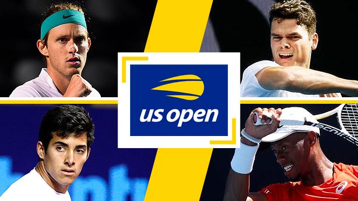 Garin enfrentará a un invitado y Jarry a un ex 3 del mundo: Quiénes son los rivales de los chilenos en primera ronda del US Open