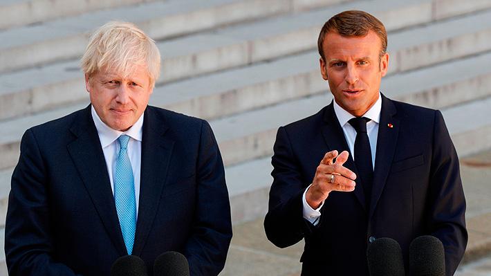 Macron expresa ante Johnson su apoyo a la posibilidad de lograr una solución al Brexit en un mes