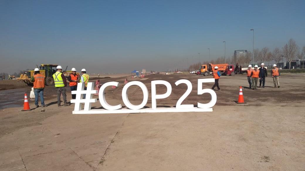 """Obras de recinto que albergará la COP25 en diciembre llevan 19% de avance y MOP dice que """"vamos bien"""""""