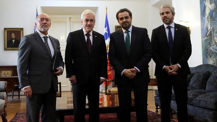 Piñera evita abordar tensión con el PS pese a llamado de presidente del Senado y la Cámara de Diputados