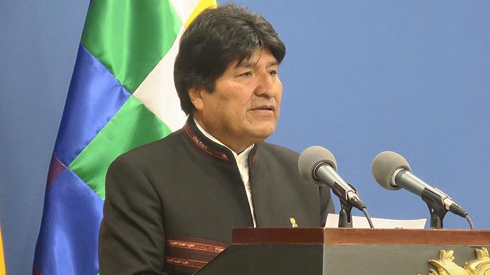 """Evo Morales agradece a Piñera por """"expresar su solidaridad"""" y ofrecer ayuda para combatir incendio forestal en Bolivia"""