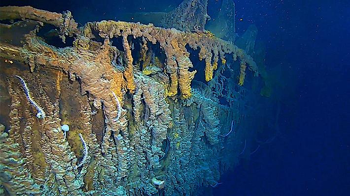 Exploradores publican sorprendentes imágenes de los restos del Titanic por primera vez en los últimos 14 años