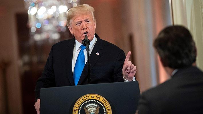 Trump se enfurece con el presidente de la Fed y dice que es junto a Xi Jinping el peor enemigo de EE.UU.