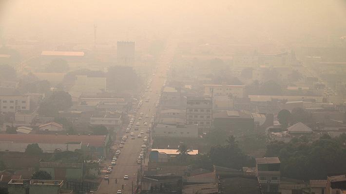 Las complicaciones de Porto Velho, la capital amazónica que amanece cubierta de humo