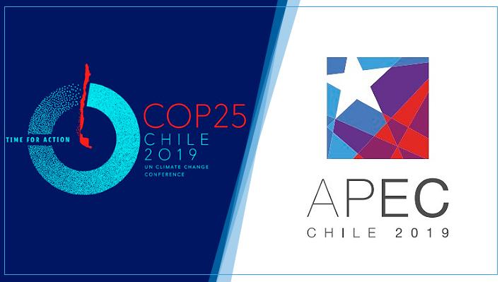 APEC y COP25: Las diferencias de las dos megacumbres internacionales que albergará Chile este año
