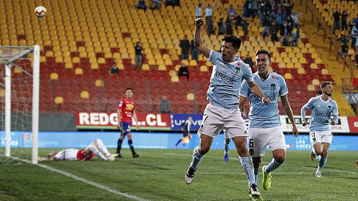 O'Higgins derrota en la agonía a Unión Española, que suma seis duelos consecutivos sin ganar en el Torneo