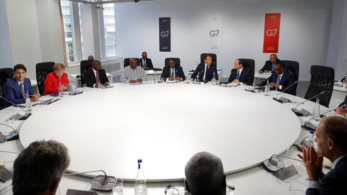 Líderes del G7 se comprometen a combatir los incendios en la Amazonía en medio de desacuerdos por Irán