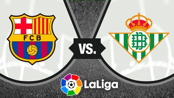 Repasa la victoria del Barcelona ante el Betis con un gol de Arturo Vidal