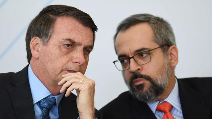 """Ministro de Educación de Brasil califica a Macron de """"canalla oportunista"""" tras polémica con Bolsonaro"""