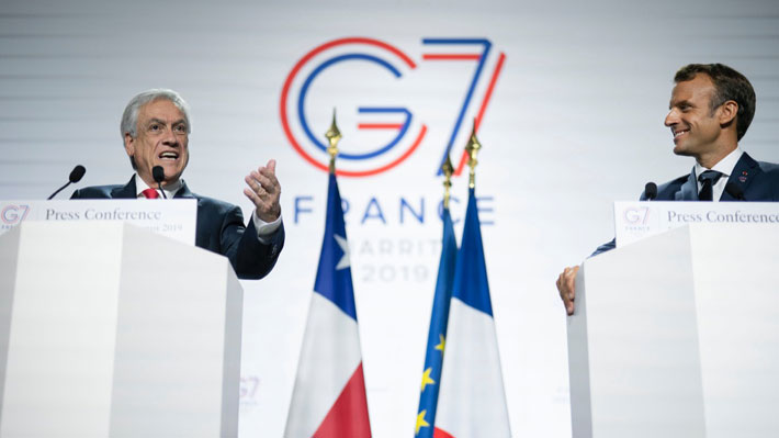 """Piñera dice que cuidar la Amazonía es responsabilidad del """"mundo entero"""" y detalla rol de Chile tras incendios"""