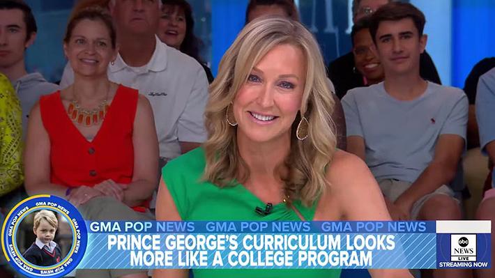 Presentadora de TV en EE.UU. es duramente criticada por burlarse de las clases de ballet del príncipe George