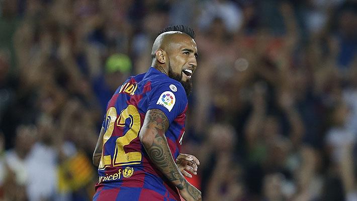 Ernesto Valverde elogia a Arturo Vidal tras su golazo, pero nuevamente deja en duda su continuidad en el Barcelona