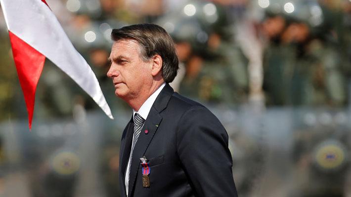 Brasil: Desaprobación personal de Bolsonaro se dispara y alcanza un 54% en agosto