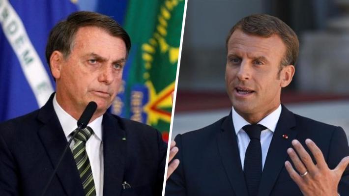 Brasil rechaza ayuda de US$20 millones ofrecida por el G7 para combatir incendios en la Amazonía
