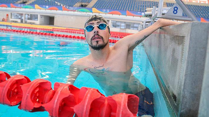 El insólito motivo que casi dejó a Alberto Abarza descalificado en una prueba de nado en los Parapanamericanos