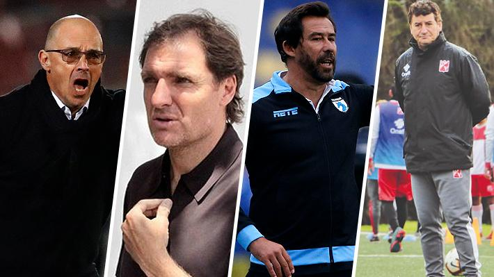 Este martes se sumaron dos: Conoce a los 18 técnicos que han sido cesados en el fútbol chileno y sus reemplazantes