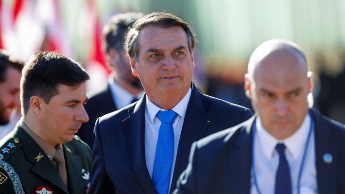 Bolsonaro anuncia reunión entre líderes de países amazónicos para analizar crisis por incendios