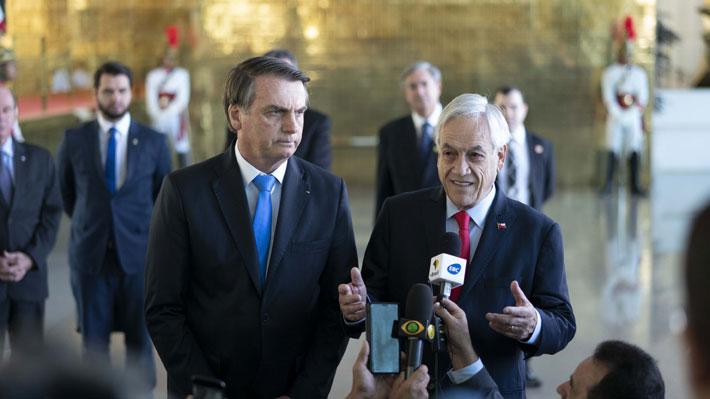 """Incendios en la Amazonía: Piñera dice que """"cada país sabrá qué colaboración quiere recibir y cuál no quiere recibir"""""""