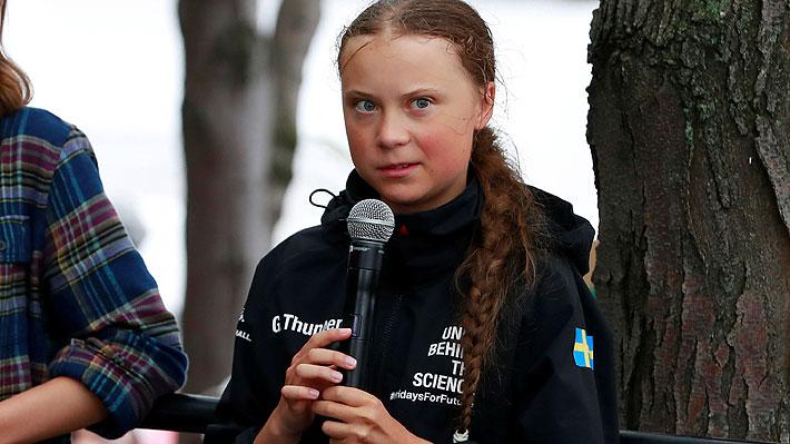 """Greta Thunberg sobre su próximo viaje a Chile: """"Definitivamente voy y consideraremos embarcarnos nuevamente"""""""