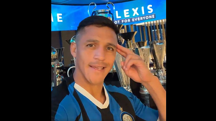 """""""Inter no es para todos, estoy aquí por eso"""": Las primeras palabras de Alexis Sánchez con la camiseta del Inter"""