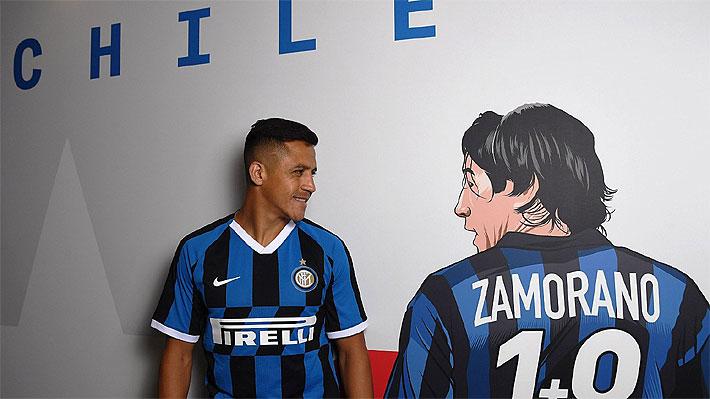 """El Inter de Milán publica nuevas imágenes de Alexis Sánchez... Ahora """"acompañado"""" por Iván Zamorano"""