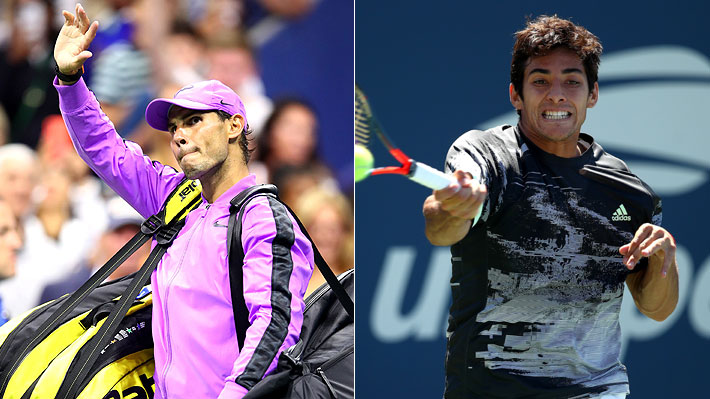 Nadal avanzó sin jugar y Garin quedó fuera: Los resultados de la jornada del US Open