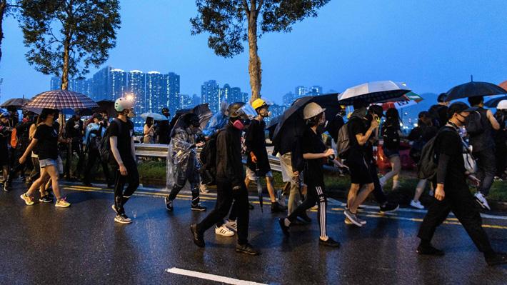 Organizadores de protestas en Hong Kong deciden cancelar marcha de este sábado tras no recibir autorización