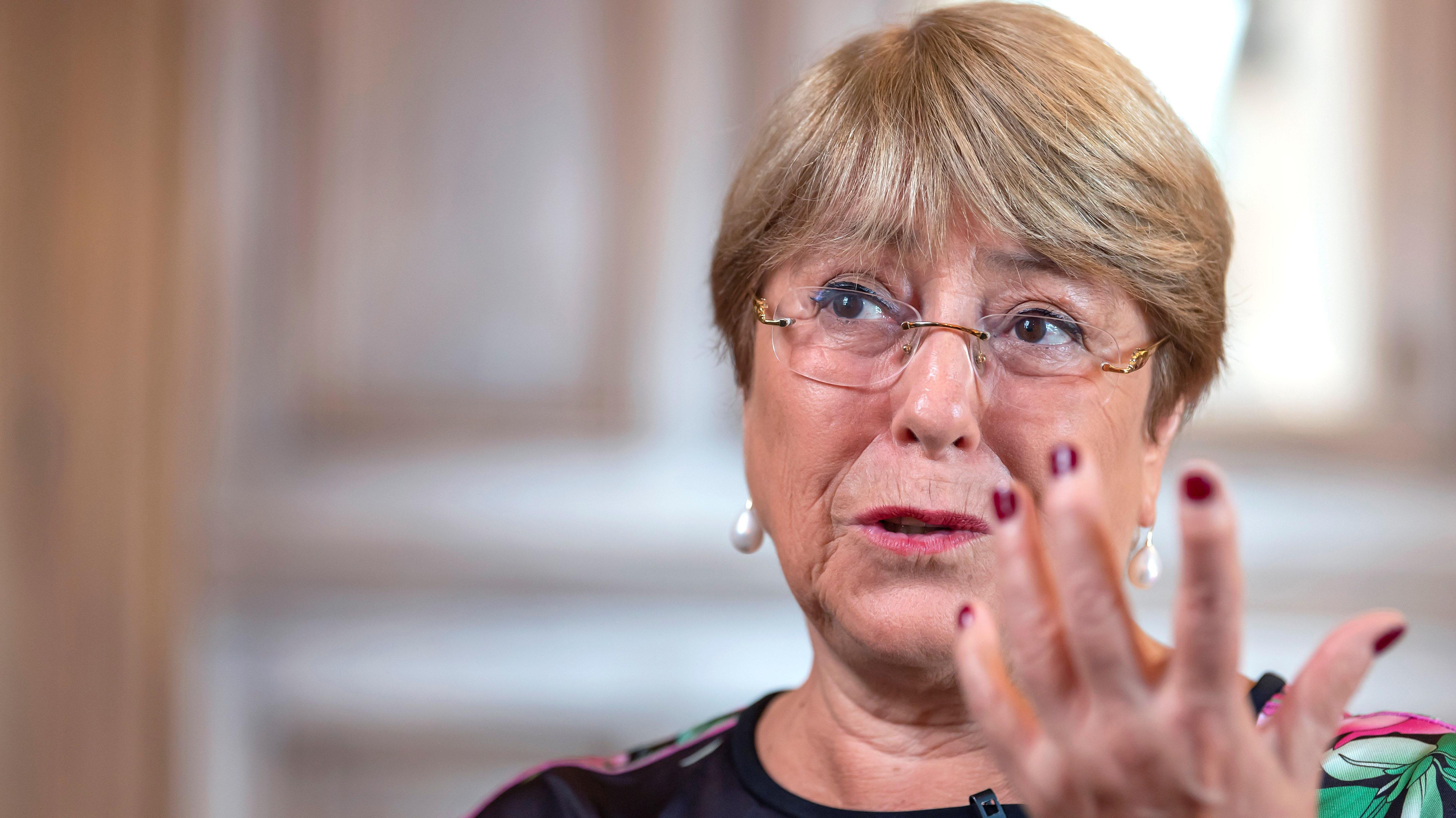 """Bachelet advierte que cambio climático generará """"daños a los Derechos Humanos"""" y """"conflictos fuertes"""""""