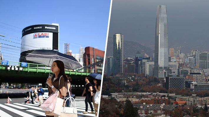 Revelan ranking de las ciudades más seguras 2019: Tokio lidera a nivel global y Santiago en Latinoamérica