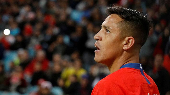 Alexis Sánchez fue autorizado por el Inter y finalmente podrá jugar en el amistoso ante Argentina