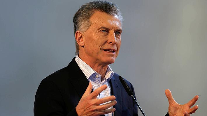 """Macri pide """"prudencia"""" en Argentina en agitada semana marcada por nuevas cifras económicas negativas"""