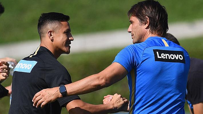 Alexis Sánchez fue citado y podría debutar este domingo en el Inter de Milán