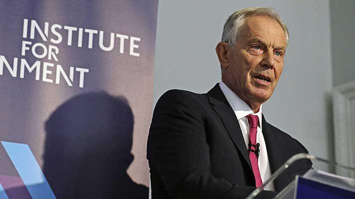 """Tony Blair considera que el estado de la política británica es """"alarmante"""""""