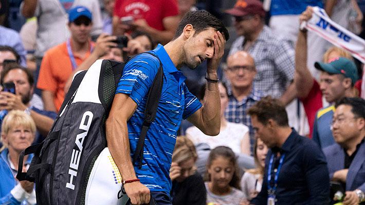 Djokovic se retira por lesión y se va entre pifias del US Open: Los resultados y lo que viene en el torneo