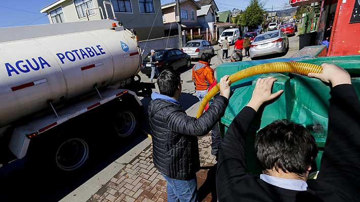 Sernac exige a Essbio aplicar descuentos automáticos por corte de agua en Chiguayante y Los Ángeles