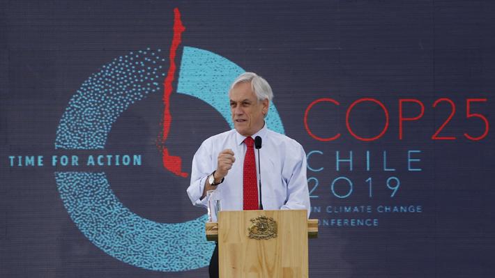 Piñera lanza Agenda Ciudadana de la COP25: Habrá 16 festivales regionales y un concurso interescolar