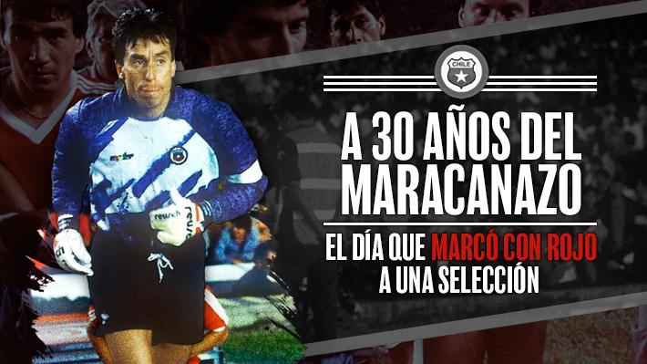 """A 30 años del escándalo más grande en la historia del fútbol chileno: Reconstruye el """"bengalazo"""" al """"Cóndor"""" Rojas"""