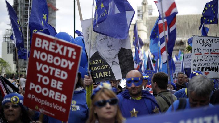 Parlamento británico vive jornada crucial por disputa sobre un Brexit sin acuerdo