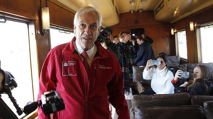 """Piñera y proyecto de """"las 40 horas"""": """"Voy a recurrir a todos los instrumentos a mi alcance para que se respete la Constitución"""""""