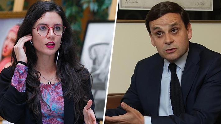 """Diputada Vallejo responde a críticas del líder de la CPC por """"40 horas"""" y lo califica de """"prepotente y misógino"""""""