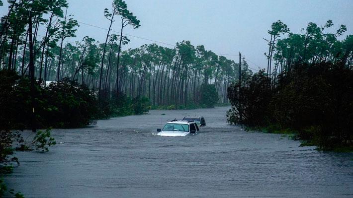 Aseguran que el 60% de la isla de Gran Bahama se encuentra bajo el agua por efecto de huracán Dorian