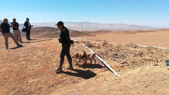PDI busca en desierto cuerpo de hombre que habría sido asesinado por su hermano en 2008