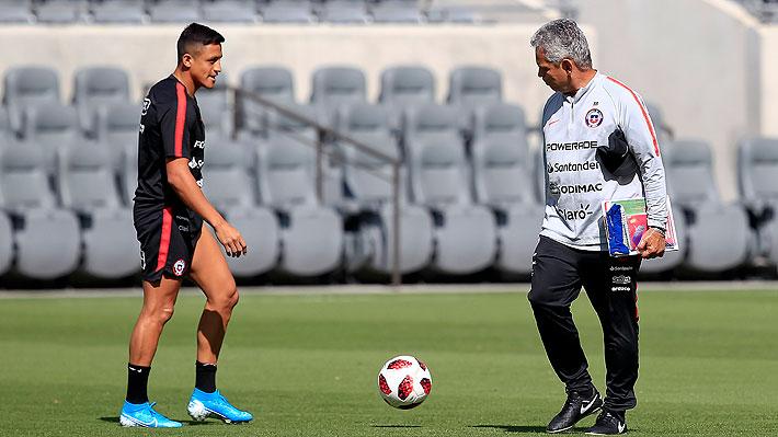 """Alexis explicó por qué decidió venir a la """"Roja"""" pese a su reciente fichaje en el Inter y habló de los problemas del camarín"""