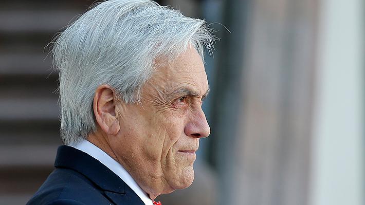 """Presidente Piñera por sequía: """"Le vamos a asegurar a todos los chilenos el consumo de agua potable"""""""