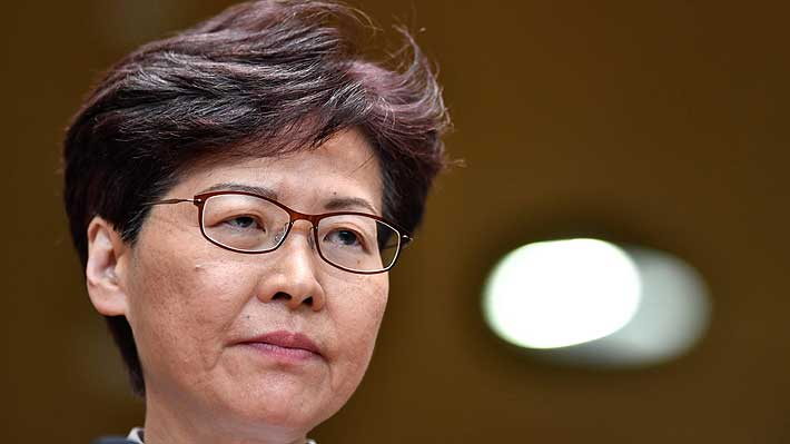 Hong Kong: Prensa local asegura que la líder Carrie Lam retirará proyecto de ley de extradición