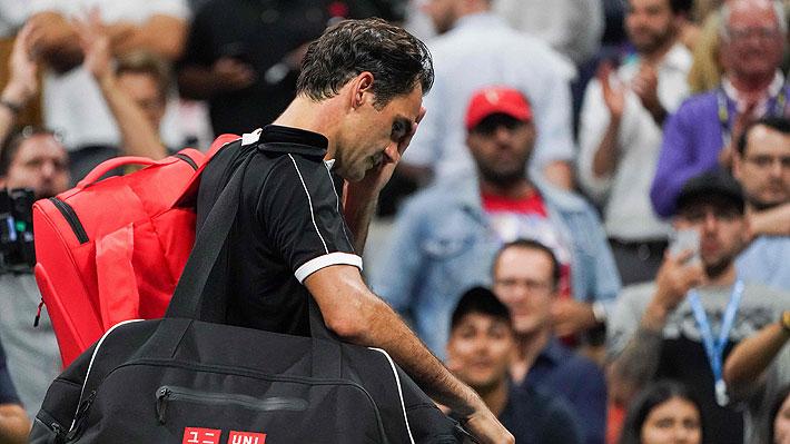 Federer cayó sorpresivamente ante el 78° del mundo y el US Open define hoy a todos sus semifinalistas