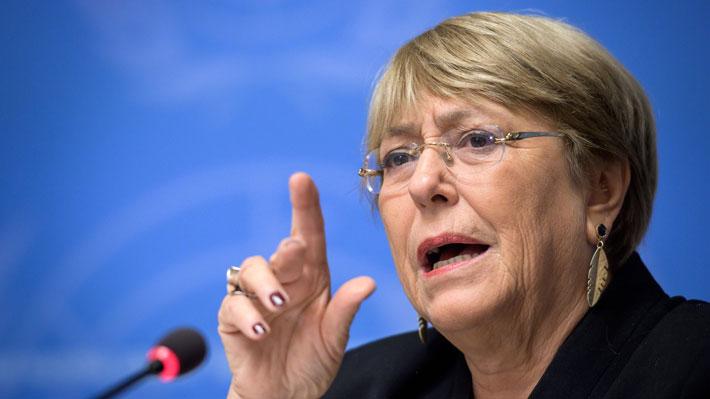 """Bachelet advierte que en Brasil ha habido una """"reducción del espacio democrático"""""""