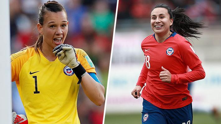 Siguen las nominaciones para la espectacular Christiane Endler: Ahora figura junto a Camila Sáez como candidata al 11 ideal de la FIFA