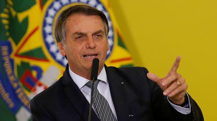 """Bolsonaro le responde a Bachelet y asegura que """"si no fuera por Pinochet, Chile hoy sería una Cuba"""""""