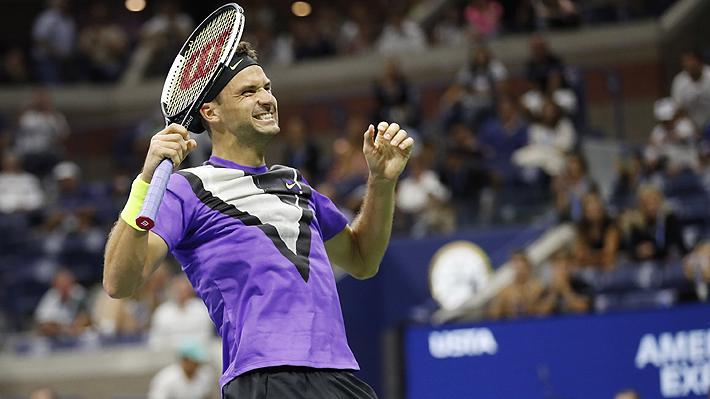 Quién es el 78 del mundo que sacó a Federer en el US Open y el récord de Grand Slam que batió después de 11 años